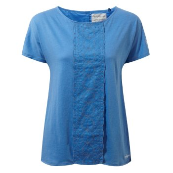 Craghoppers Connie Short-Sleeved Top Bluebell