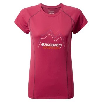Craghoppers Discovery Adventures Short-Sleeved Tee Electric Pink