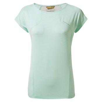 Craghoppers Fusion T-Shirt - Capri Blue