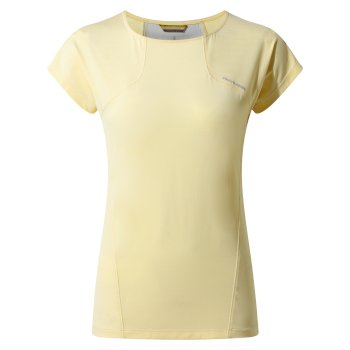 Craghoppers Fusion T-Shirt - Buttercup