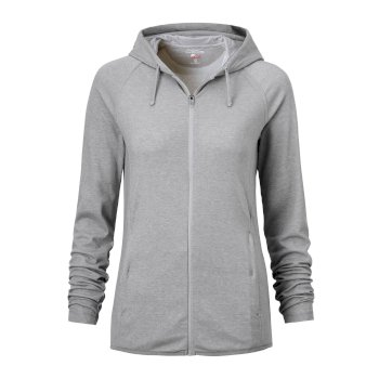 Craghoppers NosiLife Sydney Hooded Top - Soft Grey Marl