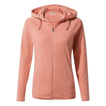 Craghoppers NosiLife Sydney Hooded Top - Rosette