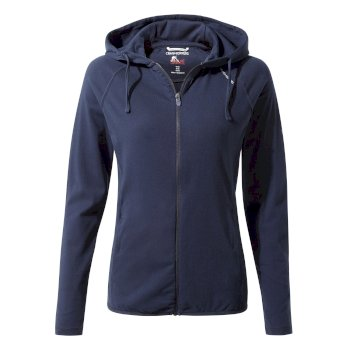 Craghoppers NosiLife Sydney Hooded Top - Blue Navy