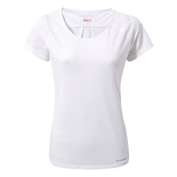 Craghoppers NosiLife Harbour Short-Sleeved Top - Optic White