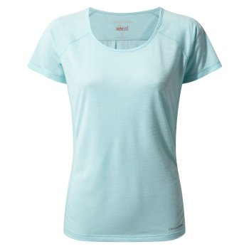 NosiLife Harbour Short-Sleeved Top - Capri Blue