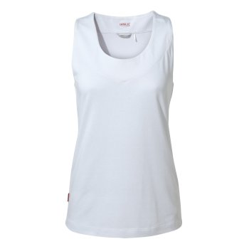 Craghoppers NosiLife Allesa Vest Top - Optic White