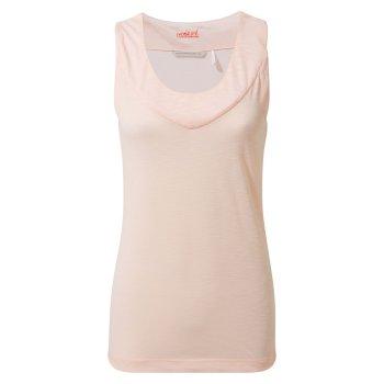 Craghoppers NosiLife Allesa Vest Top - Seashell Pink
