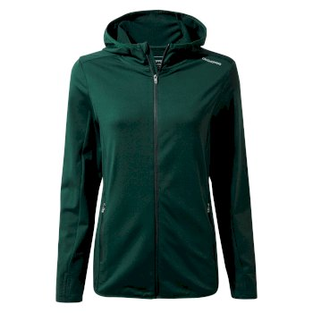 Craghoppers Winter Trail Hooded Top - Mountain Green
