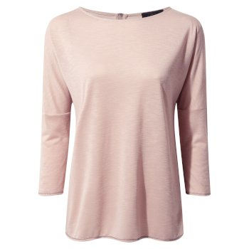 Craghoppers NosiLife Shelby Long-Sleeved Top - Dusted Rose