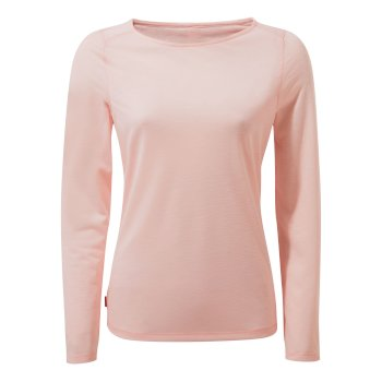 Craghoppers NosiLife Erin II Long-Sleeved Top  - Seashell Pink