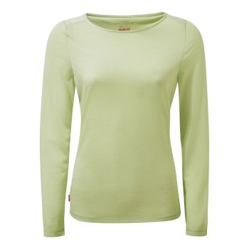 Craghoppers NosiLife Erin II Long-Sleeved Top  - Soft Pistachio