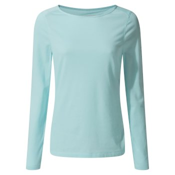 NosiLife Erin II Long-Sleeved Top  - Capri Blue