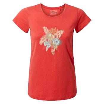Craghoppers Lima Short-Sleeved T-Shirt - Rio Red Parakeet