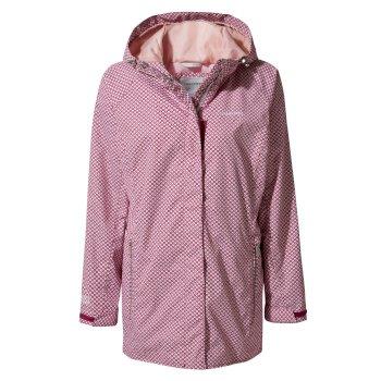 Craghoppers Madigan Classic II Jacket Azalia Pink Print