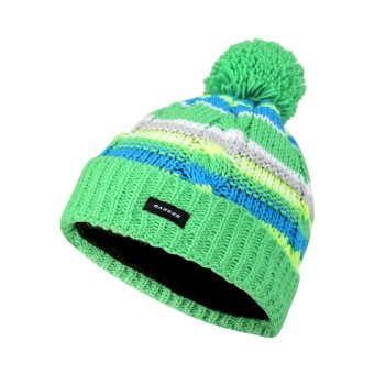 Dare2b Kids Drifter Bobble Beanie Hat Acid Green