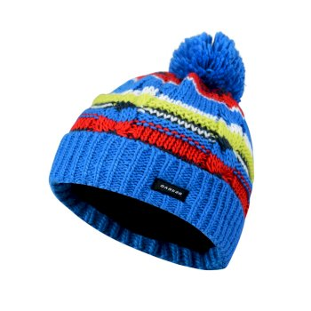 Dare2b Kids Drifter Bobble Beanie Hat Athletic Blue