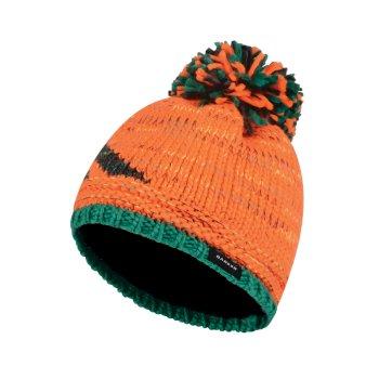 Dare 2b Kids Ice Champ Bobble Beanie Hat - Vibrant Orange