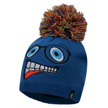 Brainstorm - Jungen Beanie-Mütze mit Tiermotiv - Gesicht Oxford Blue Face