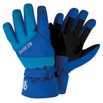 Fulgent - Jungen Skihandschuhe mit Stretch Oxford Blue