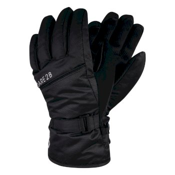 Boys' Mischievous Ski Gloves - Black