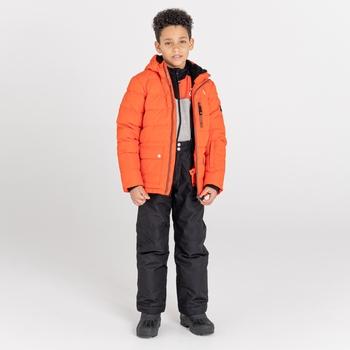 Folly wasserdichte, isolierte Skijacke für Jungen Orange