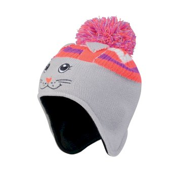 Dare2b Kids Watch Out II Rabbit Beanie Hat Cyberspace