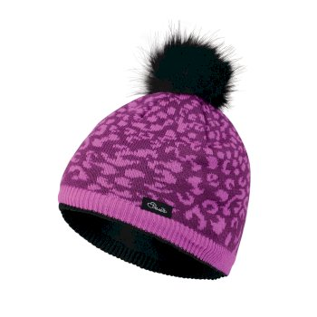 Dare2b Kids Splendid Bobble Beanie Hat Ultra Violet Purple