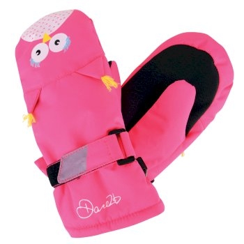 Dare2b Kids Watch Out Mitt Gloves Cyber Pink