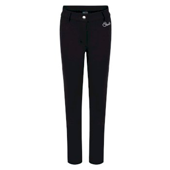 Dare 2b Kids Protract Luxe Softshell Ski Trousers - Black