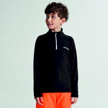 Dare 2b Kids Freeze Jam II Half Zip Fleece - Black