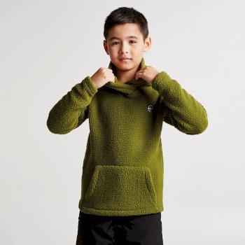 Dare2b Kids Recast Fleece Hoodie Mantis Green