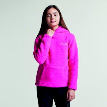 Kids Recast Fleece Hoodie Cyber Pink
