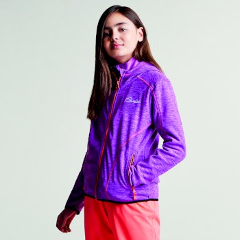 Dare2b Kids Entreat II Hooded Fleece Ultra Violet Purple