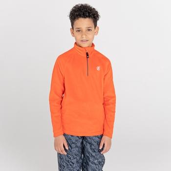Freehand leichtes Fleece mit halblangem Reißverschluss für Kinder Orange