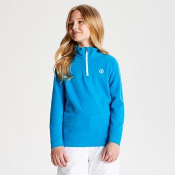 Freehand leichtes Fleece mit halblangem Reißverschluss für Kinder Atlantic Blue