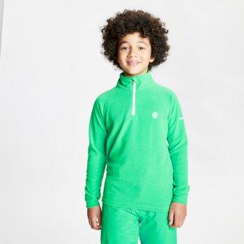 Freehand leichtes Fleece mit halblangem Reißverschluss für Kinder Grün