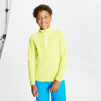 Freehand leichtes Fleece mit halblangem Reißverschluss für Kinder Gelb