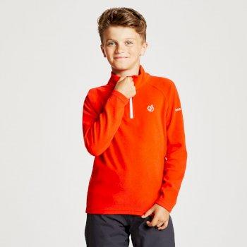 Freehand leichtes Fleece mit halblangem Reißverschluss für Kinder Fiery Red