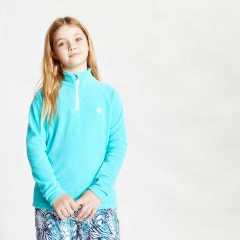 Freehand leichtes Fleece mit halblangem Reißverschluss für Kinder Blau