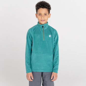 Freehand leichtes Fleece mit halblangem Reißverschluss für Kinder Grau
