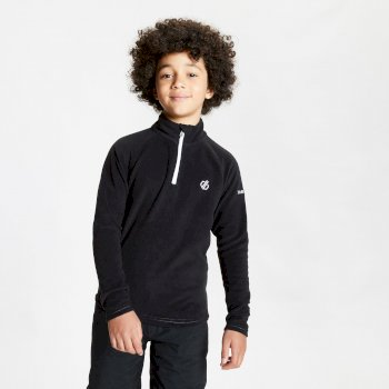 Kids' Freehand Half Zip Lightweight Fleece - Black