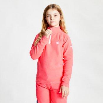 Freehand leichtes Fleece mit halblangem Reißverschluss für Kinder Rosa