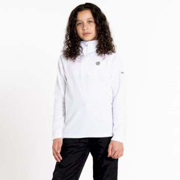 Kids' Freehand Half Zip Lightweight Fleece - White