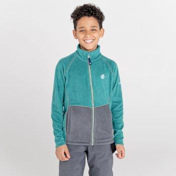 Witty Fleece Mit Durchgehendem Reißverschluss Für Kinder  Grau