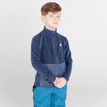 Witty Fleece Mit Durchgehendem Reißverschluss Für Kinder  Blau