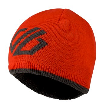 Frequent Beanie-Mütze für Kinder Fiery Red Ebony