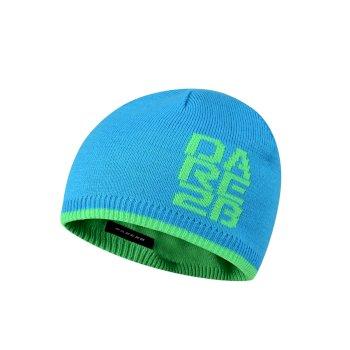 Dare 2b Kids Thick Cuff Reversible Beanie Hat - Fluro Blue