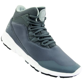 Dare2b Kids Uno Millennium Mid Trainers Smokey Grey