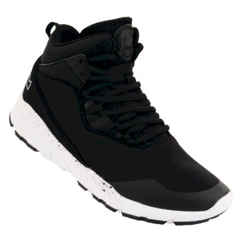Dare2b Kids Uno Millennium Mid Trainers Black White