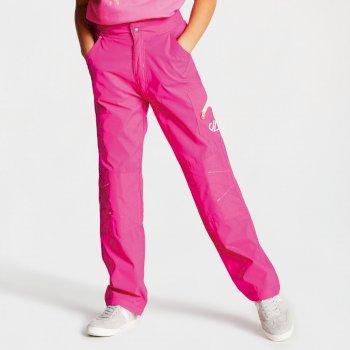 Reprise leichte Wanderhose für Kinder pink